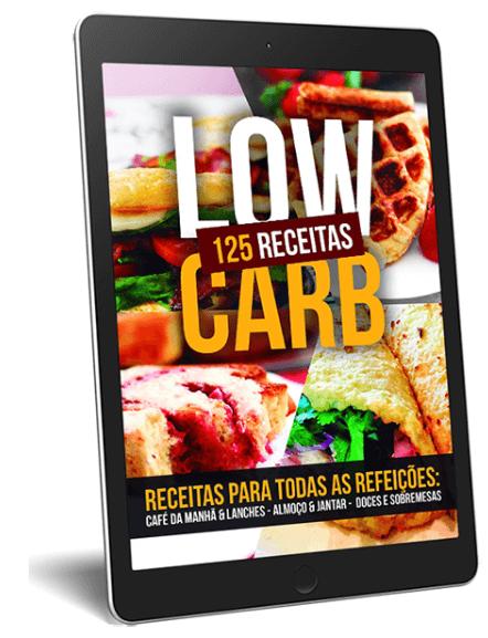 ebook 125 Receitas Low Carb