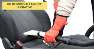Higienização e limpeza de bancos de carro